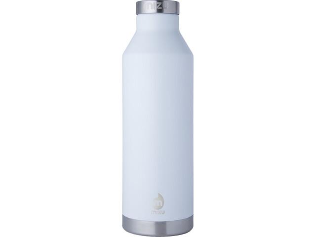MIZU V8 Insulated Bottle with Stainless Steel Cap 800ml enduro white